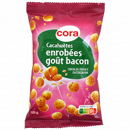 Cora cacahuètes enrobées goût bacon 125 g