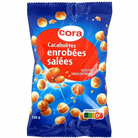 Cora cacahuètes enrobées salées 125 g