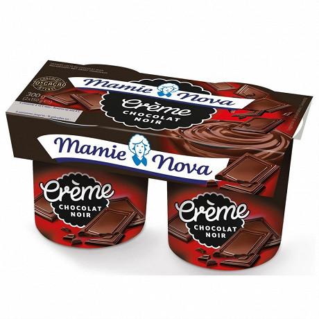 Mamie Nova dessert lacté crème chocolat noir 2x150 g