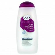 Cora les soins crème de douche 1/4 de crème hydratante 250ml