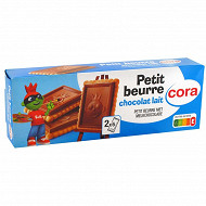 Cora kido petit beurre tablette chocolat lait 150 g