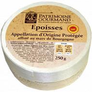 Patrimoine gourmand époisses AOP affiné au marc de Bourgogne 250g