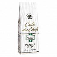 Café des Chefs Mexique Cuba moulu valve 250g