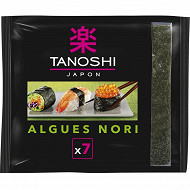 Tanoshi algues nori 18g