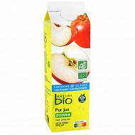 Nature Bio pur jus de pomme frais 1l