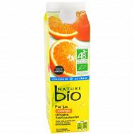 Nature Bio pur jus d'orange frais 1l