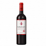 L'âme du terroir Bordeaux boisé rouge 75 cl 13% Vol.
