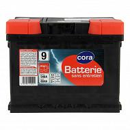 Cora batterie de démarrage 60AH 540A N°9