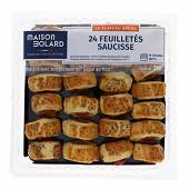 Plateau de feuilletés saucisses costumées 390g