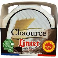 Lincet chaource boite aop au lait thermisé 22%mg 250g