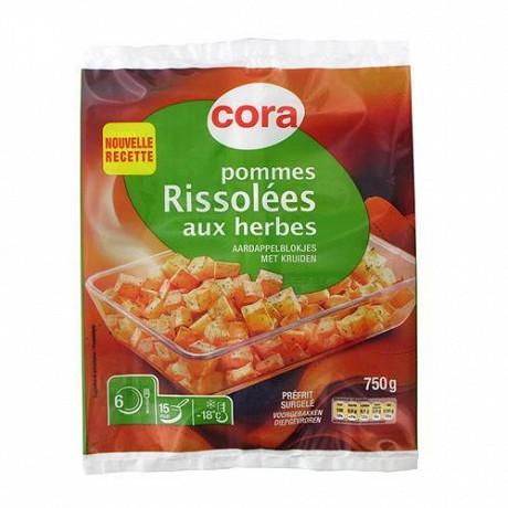 Cora pommes de terre rissolées aux herbes 750g