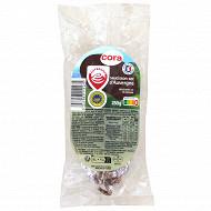Cora saucisson sec d'Auvergne 250g