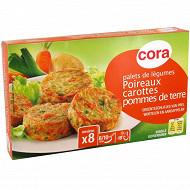 Cora palets poireaux carottes pomme de terre 300g