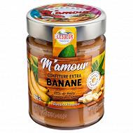 M'amour confiture banane pot verre 325g