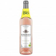 Nature bio Bordeaux rosé 75 cl 13% Vol.