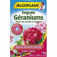 Algoflash engrais géraniums et fleurs de massifs et balcons 1kg