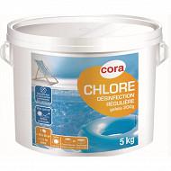 Chlore lent galets de 200g en seau de 5kg