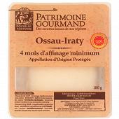 Patrimoine gourmand Ossau Iraty pur brebis au lait pasteurisé AOP 180g