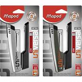 Maped agrafeuse half strip universal métal 26/6 + 400 agrafes 26/6