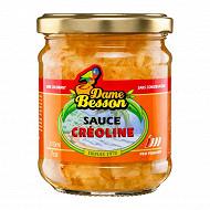 Dame besson sauce créoline 210ml
