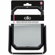 Elite Miroir à poser moyen double face