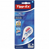 Bic tipp-ex mini pocket mouse 6mm x 5 mètres
