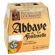 Patrimoine Gourmand Abbaye de Fontenelle 6 x 25 cl 6,6% Vol.