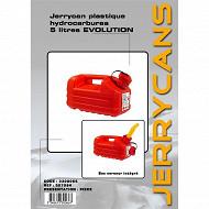 Autoselect jerrican plastique hydrocarbure 5L
