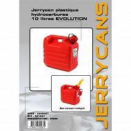 Autoselect jerrican plastique hydrocarbure 10L