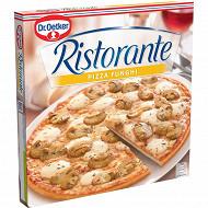 Dr Oetker pizza ristorante funghi pizza surgelée aux champignons 365g