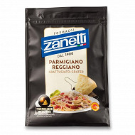Zanetti parmigiano reggiano aop râpé sachet 28,4%mg  100 g