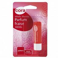 Cora stick lèvres fraise gourmande