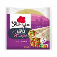 La Boulangère 6 pains Wraps 370 g