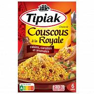Tipiak poelée royale couscous et kégumes secs 300g (2x165)