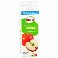 Cora pur jus de pomme trouble 1l