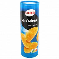 Cora tuiles goût sel 170g