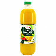 Cora pur jus d'orange 2l