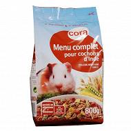 Cora menu complet pour cochons d'inde 800gr