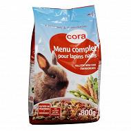 Cora menu complet pour lapins nains 800gr