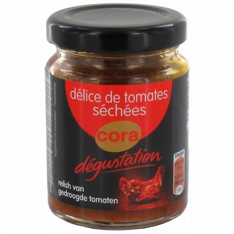 Cora dégustation délice de tomates séchées 90g