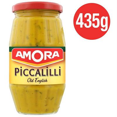 Amora Amora moutarde piccalilli old english bocal 435g