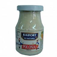 Polonia raifort blanc au naturel bocal 198 grs