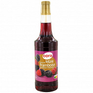 Cora sirop mûres framboise bouteille 70 cl
