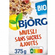 Bjorg muesli sans sucres ajoutés 375g
