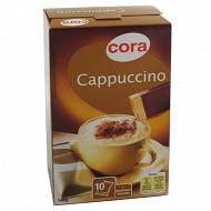 Cora cappuccino nature avec poudreuse de chocolat 147g