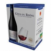 Côtes du Rhône rouge L'âme du terroir poche 5 l 13,5% Vol.