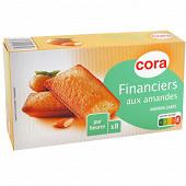 Cora financiers aux amandes pur beurre x8 200g