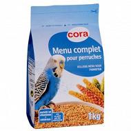 Cora menu complet pour perruches sachet 1kg