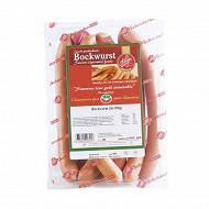 Jeca Bockwurst schroder saucisse légèrement fumée 8 x 100 g