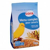 Cora menu complet canaris sachet 1kg